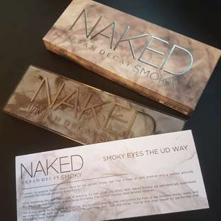 AUTHENTIC BNIB Urban Decay Naked Smokey Palette