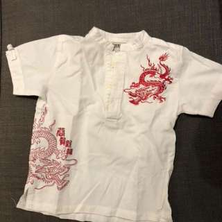 CNY top for boys