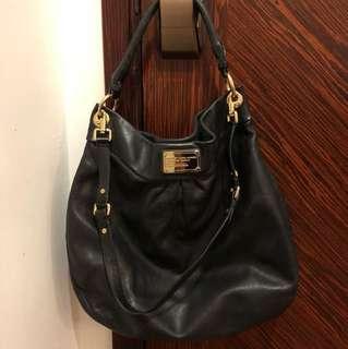 MARC BY MARC JACOBS Black Hillier Leather Handbag