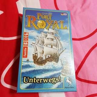 Port Royal Unterwegs (English) Brand New Board Game