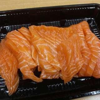 挪威三文魚刺身