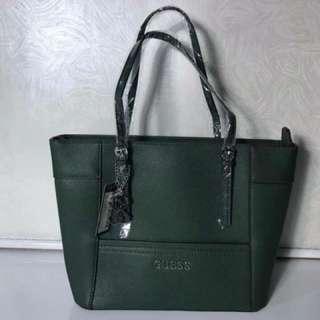Guess Tote Bag - Green