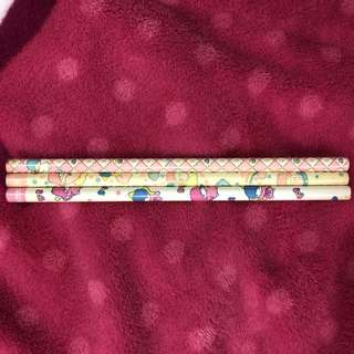 Vintage little twin stars pencils
