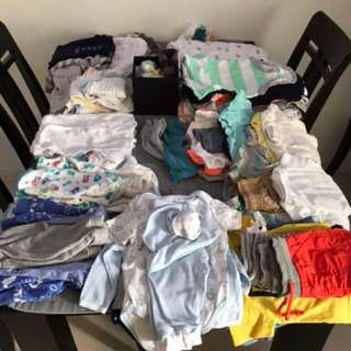 Various Baby Boy Clothing