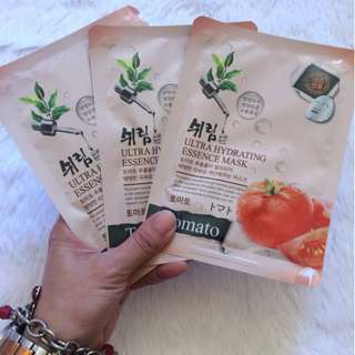 Shelim Ultra Hydrating Essence Facial Mask in Tomato
