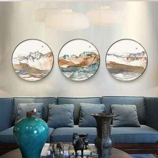 Blue Mist Canvas Painting