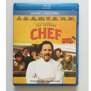 Chef Blu Ray + DVD