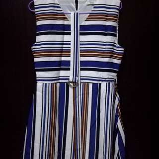 Sakaya dress stripes (XL)