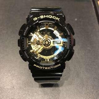Casio G-Shock GA-110GB-1A 黑金