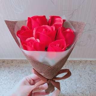 情人節 情人節禮物 香皂玫瑰花