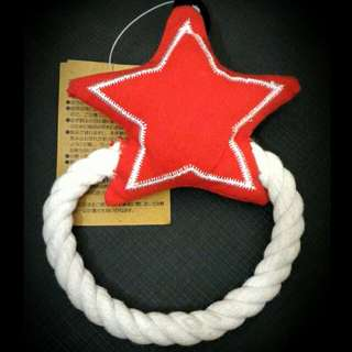 Star Rope Soft Pet Toy