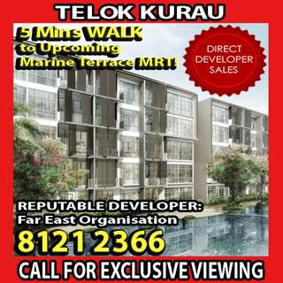 🌟FREEHOLD AND READY TO MOVE IN, SEAWIND Condominium! 5 mins WALK to Upcoming Marine Terrance MRT! 4 MINS drive to NEAREST MRT STATION!🌟