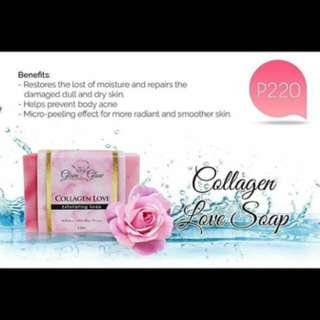 Glam and Glow Collagen soap