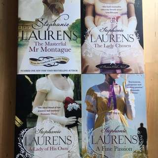 4 books by Stephanie Laurens