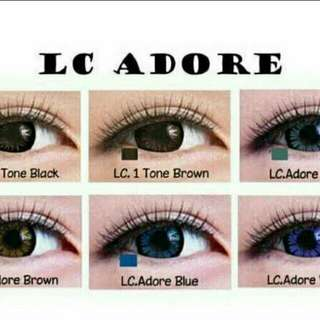 Softlens living color adore brown