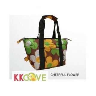 Jingle Jungle - Ezara 2 in 1 Convertible Cooler Bag (Cheerful Flower)