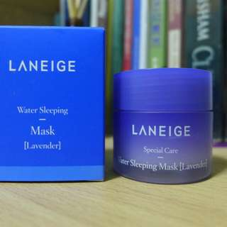 LANEIGE WATER SLEEPING MASK LAVANDER
