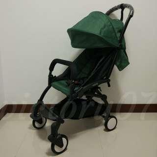 BN Yoya Lightweight Baby Stroller, Green