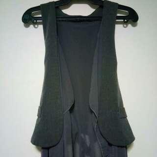 Vest with Lace