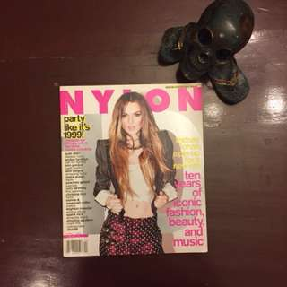 Nylon Lindsay Lohan (April 2009)