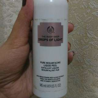 The Bodyshop liquid peel