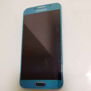 Samsung s6 32gb with charger/cable/headphone/box