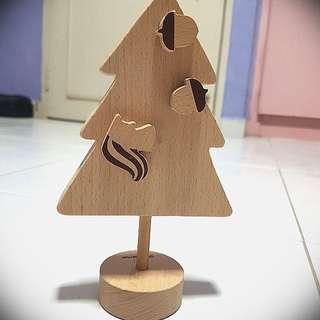 Wooden Memo Holder (Magnetic)