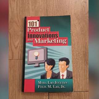 101 Product Innovation & Marketing
