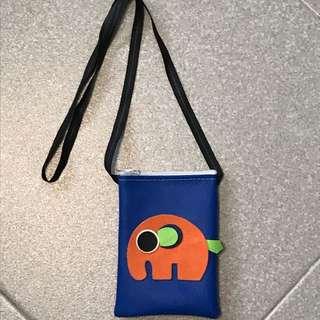 Elephant Thai Sling Bag (Dark Blue) (nt Naraya, Aldo, Kara)
