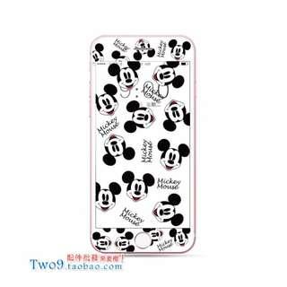 🚚 現貨+預購🏩可愛米奇 米妮 唐老鴨 黛西 iPhone 鋼化玻璃膜 螢幕保護貼