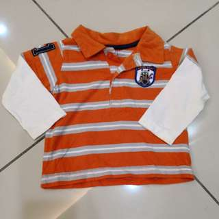 Carter's Baby Long Sleeve Shirt (12m)