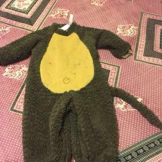 Incharacter little monkey Halloween costume