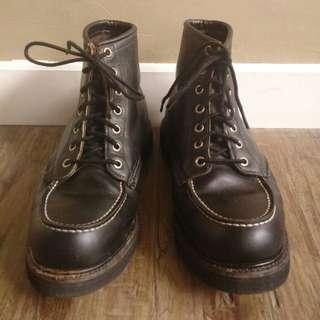 Red wing moc boots made usa irish setter