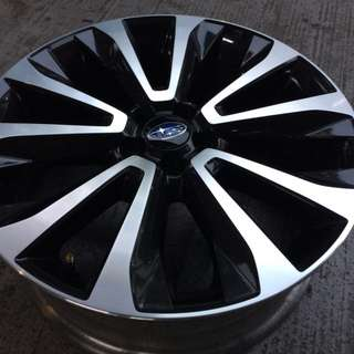 "18"" Pre-Owned Original Subaru Sports Rim"