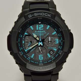 Casio - G-1200BD-1A - G-Shock - Gravity Defier Series Sky Cockpit - Tough Solar 光動能 全鋼帶 (非電波時計型號 NOT Multi Band 6 model / GW-3000 GW3000 非電波版本) G-1200 G1200 watch (請留意下面Information)