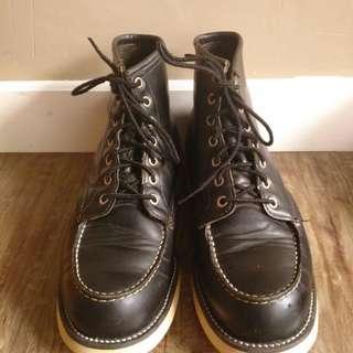 Sepatu boots redwing moc made usa