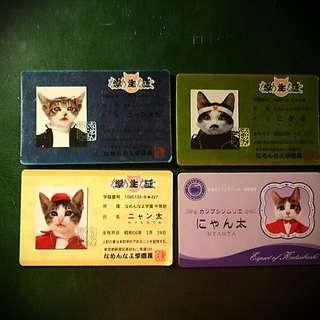 Name-neko Collectible Japanese Cards