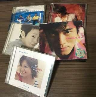 5 中文CD ( All for $10)