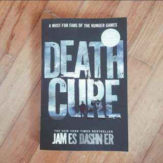 the death cure - james dashner [NEW] #huat50sale