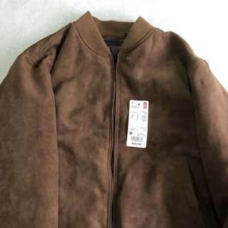 BNWT Uniqlo Suede Jacket