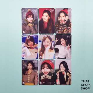 [INSTOCK] TWICE Heart Shaker Broadcast Photocard (Unofficial)