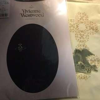 Westwood全新 寶藍navy 絲襪 情人節禮物 購自日本大丸附包裝