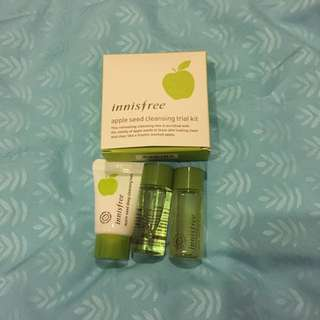 Innisfree Apple Seed Cleansing Trial Kit