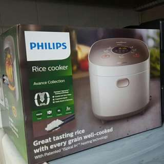 BNIB Philips Rice Cooker Advance Collection HD3175