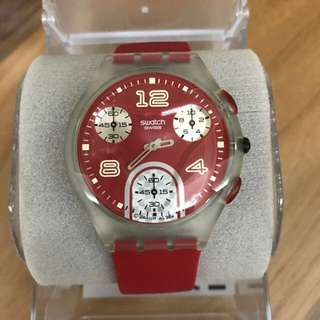 Swatch Skin Chrono - red