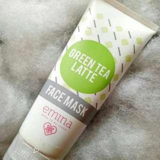 emina masker green tea