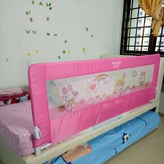 Child bed rail/child bed guard