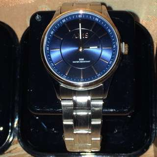 Axis Tri-tone Royal Blue For Her Couple Watch