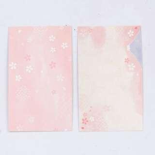 櫻花富士山卡片