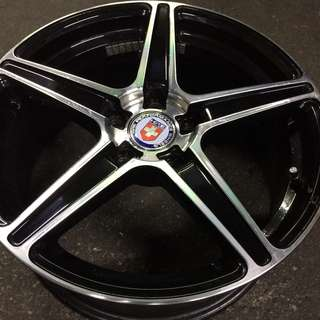 "17"" Pre-Owned Replica HRE Sports Rim"